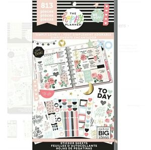 Simply Lovely Sticker The Book Happy Planner New
